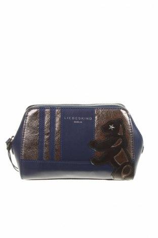 Kozmetická taška  Liebeskind, Farba Modrá, Pravá koža , Cena  55,36€