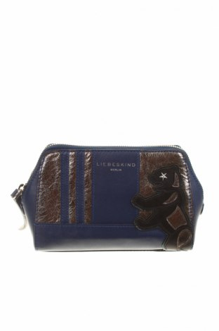 Kozmetická taška  Liebeskind, Farba Modrá, Pravá koža , Cena  57,63€