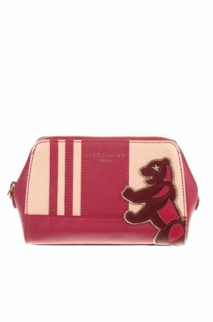 Kosmetický kufřík  Liebeskind, Barva Červená, Pravá kůže, Cena  908,00Kč
