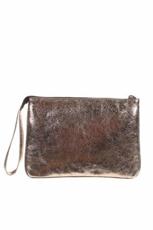 Kozmetická taška  Patrizia Aryton, Farba Strieborná, Pravá koža , Cena  26,47€