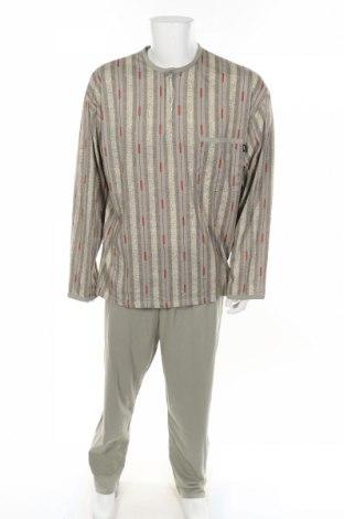 Пижама, Размер XL, Цвят Зелен, Памук, Цена 24,41лв.