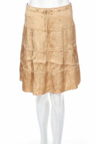 Φούστα American Eagle, Μέγεθος XS, Χρώμα Χρυσαφί, 100% μετάξι, Τιμή 15,03€