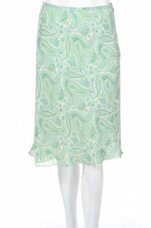 Φούστα Ann Taylor, Μέγεθος S, Χρώμα Πράσινο, Μετάξι, Τιμή 15,93€
