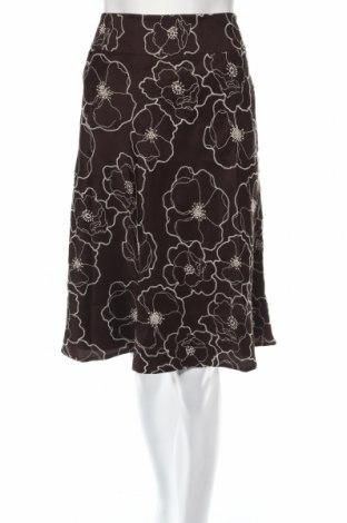 Пола Ann Taylor, Размер M, Цвят Кафяв, 100% коприна, Цена 23,41лв.