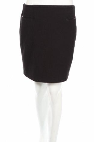Φούστα Esprit, Μέγεθος S, Χρώμα Μαύρο, 66% πολυεστέρας, 33% βισκόζη, 1% ελαστάνη, Τιμή 2,78€
