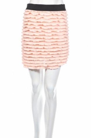 Пола Tally Weijl, Размер L, Цвят Розов, 98% полиестер, 1% други материали, 1% еластан, Цена 5,45лв.