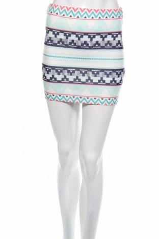 Пола Zara Trafaluc, Размер S, Цвят Многоцветен, 96% полиестер, 4% еластан, Цена 5,72лв.