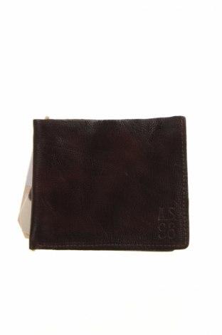 Портмоне A.S. 98, Цвят Кафяв, Естествена кожа, Цена 51,75лв.