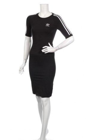 Rochie Adidas Originals, Mărime XS, Culoare Negru, 93% bumbac, 7% elastan, Preț 195,05 Lei