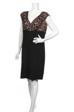 Рокля Adrianna Papell, Размер XL, Цвят Черен, 56% памук, 44% полиестер, Цена 35,81лв.