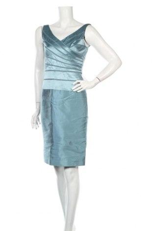 Рокля Adrianna Papell, Размер S, Цвят Син, 100% коприна, Цена 114,63лв.