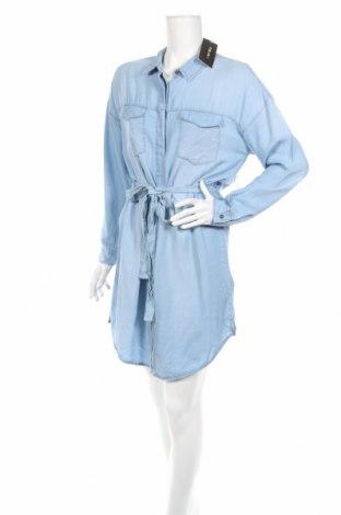Φόρεμα Amisu, Μέγεθος M, Χρώμα Μπλέ, Lyocell, Τιμή 28,01€