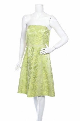Рокля Ann Taylor, Размер S, Цвят Зелен, 67% памук, 33% коприна, Цена 58,85лв.
