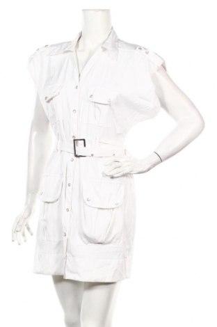 Рокля Antilia Femme, Размер L, Цвят Бял, 77% полиестер, 20% полиамид, 3% еластан, Цена 27,72лв.