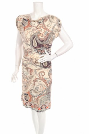 Рокля Atmos Fashion, Размер M, Цвят Многоцветен, 93% полиестер, 7% еластан, Цена 20,58лв.