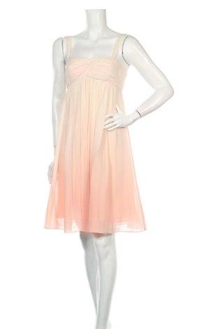 Рокля BCBG Max Azria, Размер S, Цвят Розов, 100% коприна, Цена 204,74лв.