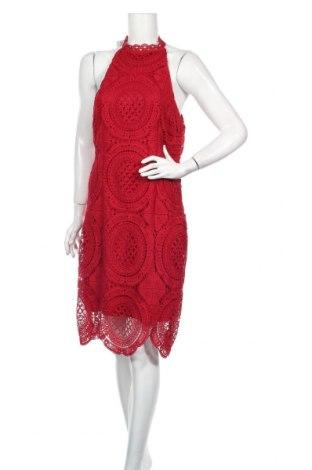Φόρεμα Charlotte Russe, Μέγεθος XL, Χρώμα Κόκκινο, 100% πολυεστέρας, Τιμή 22,91€