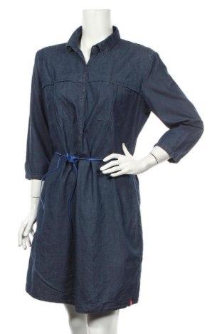 Φόρεμα Edc By Esprit, Μέγεθος L, Χρώμα Μπλέ, Βαμβάκι, Τιμή 21,64€