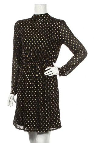 Φόρεμα Ichi, Μέγεθος S, Χρώμα Μαύρο, Πολυεστέρας, Τιμή 17,19€