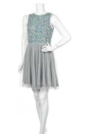 Sukienka Lace & Beads, Rozmiar M, Kolor Niebieski, Poliester, Cena 106,52zł