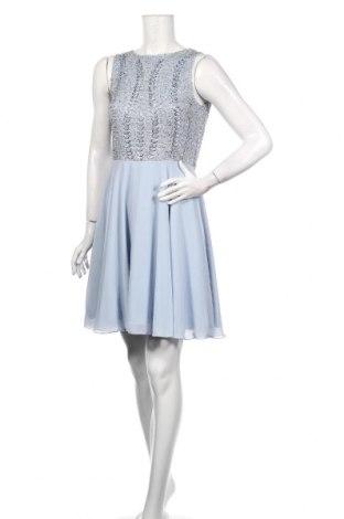Sukienka Lace & Beads, Rozmiar XS, Kolor Niebieski, Poliester, Cena 161,00zł