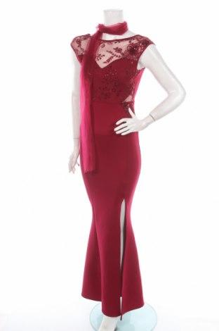 Рокля Lipsy London, Размер S, Цвят Червен, 93% полиестер, 7% еластан, Цена 109,20лв.