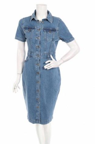 Šaty  Michelle Keegan, Rozměr M, Barva Modrá, 98% bavlna, 2% elastan, Cena  593,00Kč