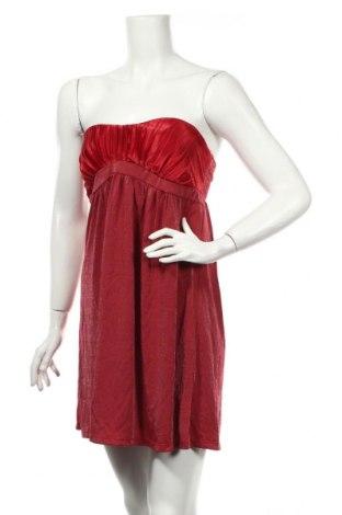 Φόρεμα Pink Woman, Μέγεθος S, Χρώμα Κόκκινο, 60% βισκόζη, 25% πολυεστέρας, 5% ελαστάνη, Τιμή 6,23€