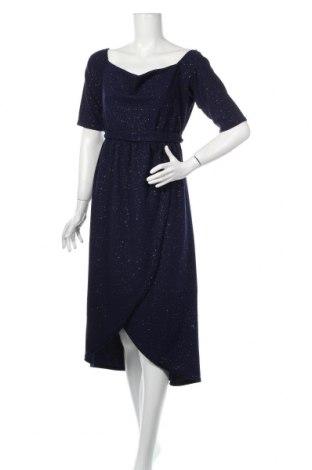 Sukienka Quiz, Rozmiar XL, Kolor Niebieski, 97% poliester, 3% elastyna, Cena 120,75zł