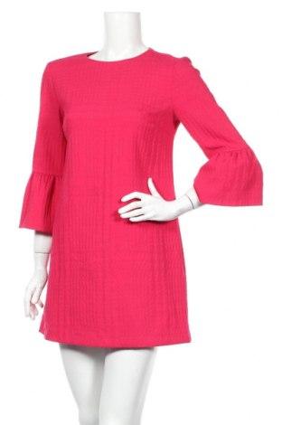 Φόρεμα Zara, Μέγεθος S, Χρώμα Ρόζ , 77% πολυεστέρας, 22% βισκόζη, 1% ελαστάνη, Τιμή 26,73€