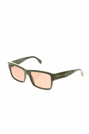 Слънчеви очила Alexander Mcqueen, Цвят Зелен, Цена 226,17лв.
