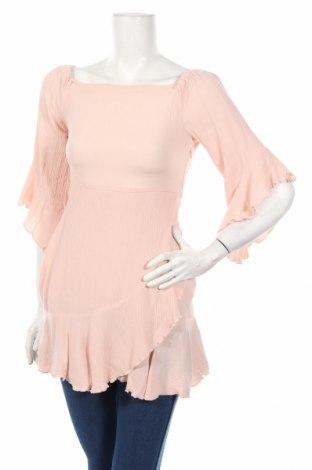 Τουνίκ Pull&Bear, Μέγεθος S, Χρώμα Ρόζ , Βισκόζη, Τιμή 12,09€