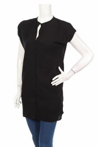 Туника Zara, Размер S, Цвят Черен, 69% вискоза, 31% полиестер, Цена 26,69лв.