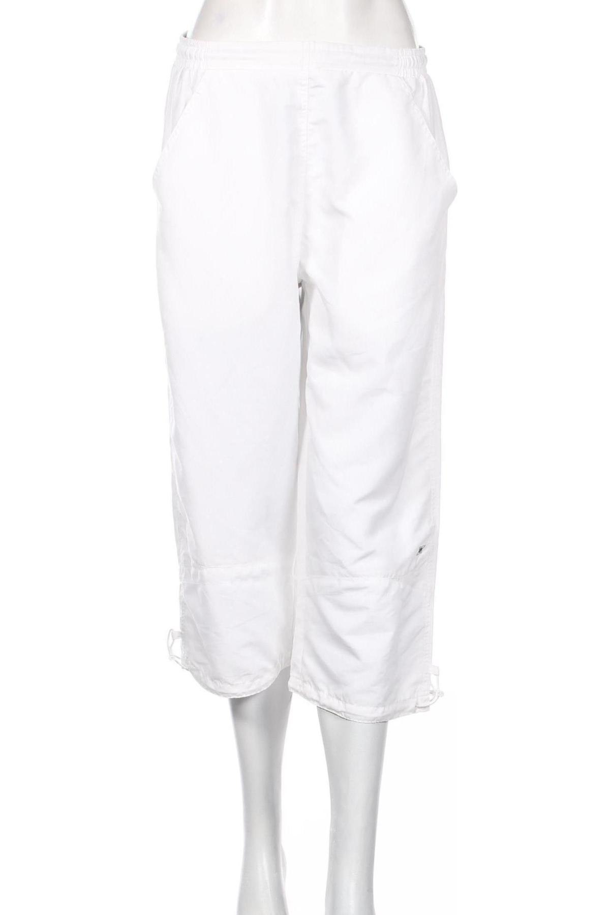 Дамско спортно долнище Masita, Размер L, Цвят Бял, Полиестер, Цена 3,08лв.