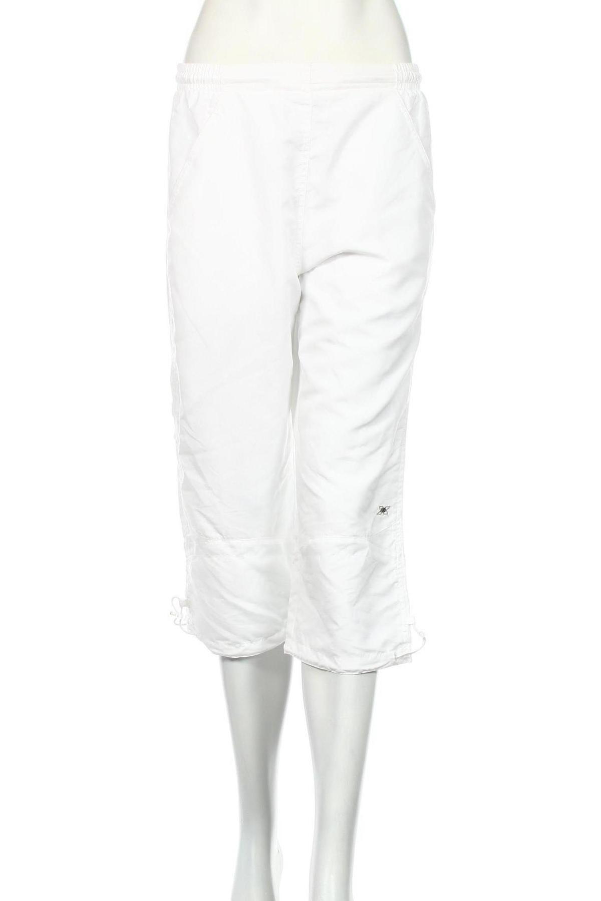 Дамско спортно долнище Masita, Размер S, Цвят Бял, Полиестер, Цена 3,08лв.
