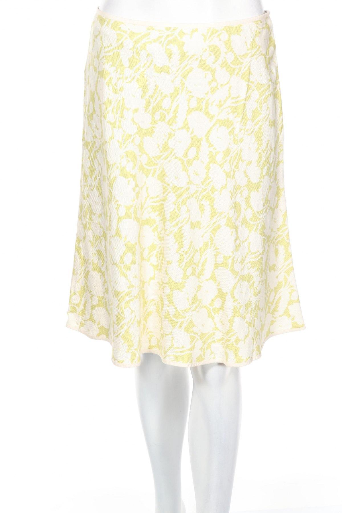 Пола Ann Taylor, Размер S, Цвят Зелен, 100% коприна, Цена 23,08лв.