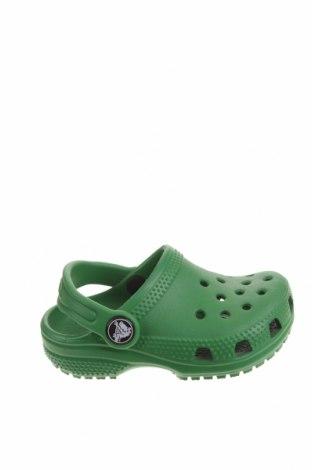 Чехли Crocs, Размер 22, Цвят Зелен, Полиуретан, Цена 34,22лв.
