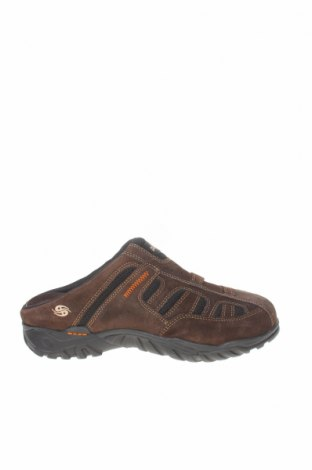 Мъжки обувки Dockers by Gerli, Размер 41, Цвят Кафяв, Естествен велур, текстил, Цена 46,87лв.