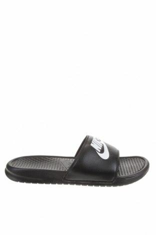 Чехли Nike, Размер 45, Цвят Черен, Полиуретан, Цена 44,25лв.