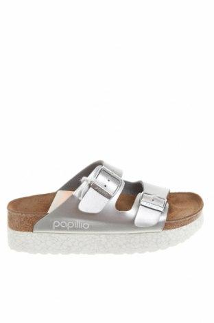 Pantofle Papillio, Velikost 35, Barva Stříbrná, Eko kůže, Cena  564,00Kč