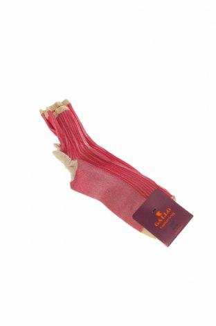 Ponožky Gallo, Velikost S, Barva Červená, 66% polyamide, 33% polyamide, 1% polyester, Cena  139,00Kč