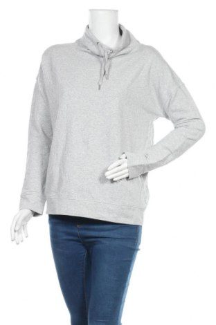 Дамска блуза Active By Tchibo, Размер S, Цвят Сив, 68% памук, 16% полиестер, 10% метални нишки, 6% еластан, Цена 15,12лв.