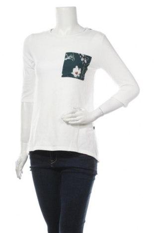 Дамска блуза Bewear, Размер S, Цвят Бял, 65% модал, 30% памук, 5% еластан, Цена 13,80лв.