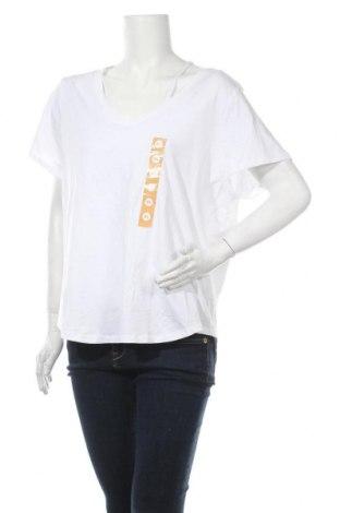 Дамска блуза Brilliant, Размер XL, Цвят Бял, Памук, Цена 22,68лв.