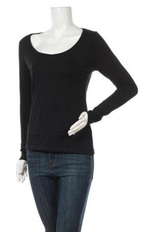 Дамска блуза Brilliant, Размер S, Цвят Черен, Памук, еластан, Цена 24,99лв.