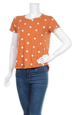 Дамска блуза Brilliant, Размер M, Цвят Кафяв, Памук, Цена 16,96лв.