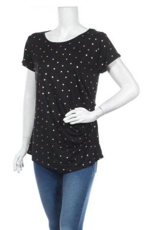 Блуза за бременни Brilliant, Размер M, Цвят Черен, Вискоза, еластан, Цена 10,24лв.