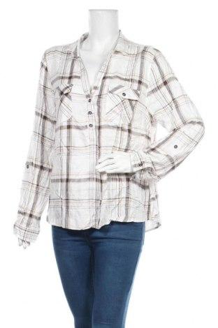 Дамска блуза Brilliant, Размер XL, Цвят Бял, Вискоза, Цена 7,61лв.