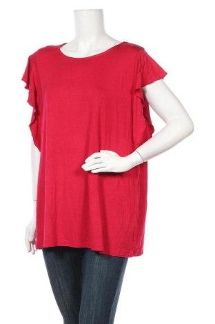 Дамска блуза Capture, Размер M, Цвят Червен, 95% вискоза, 5% еластан, Цена 3,94лв.