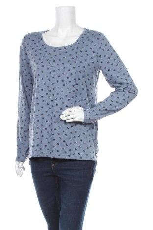 Дамска блуза Colours Of The World, Размер M, Цвят Син, 60% памук, 40% полиестер, Цена 4,46лв.